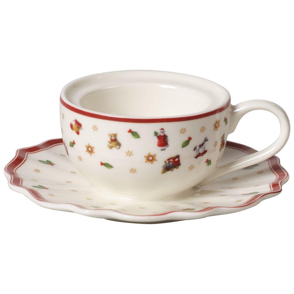 Teelichthalter Kaffeetasse 9,8x9,8x4cm Toy's Delight Decoration Villeroy und Boch