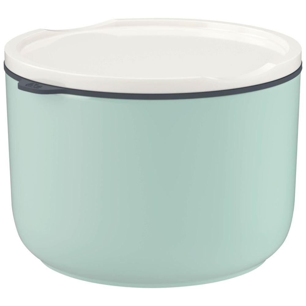 Lunchbox L rund mineral 13x13x9,5cm To Go & To Stay Villeroy und Boch