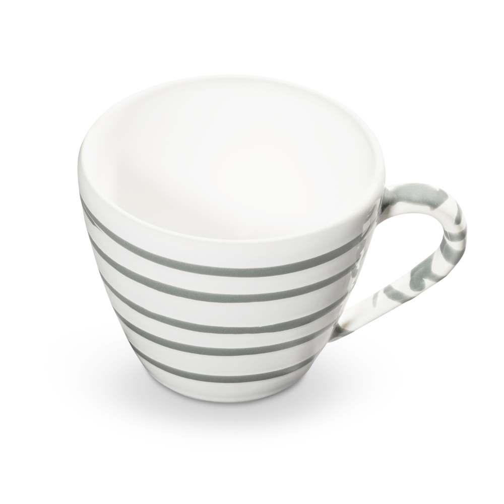 Cappuccino Tasse (0,16L) Grüner Hirsch Gmundner Keramik