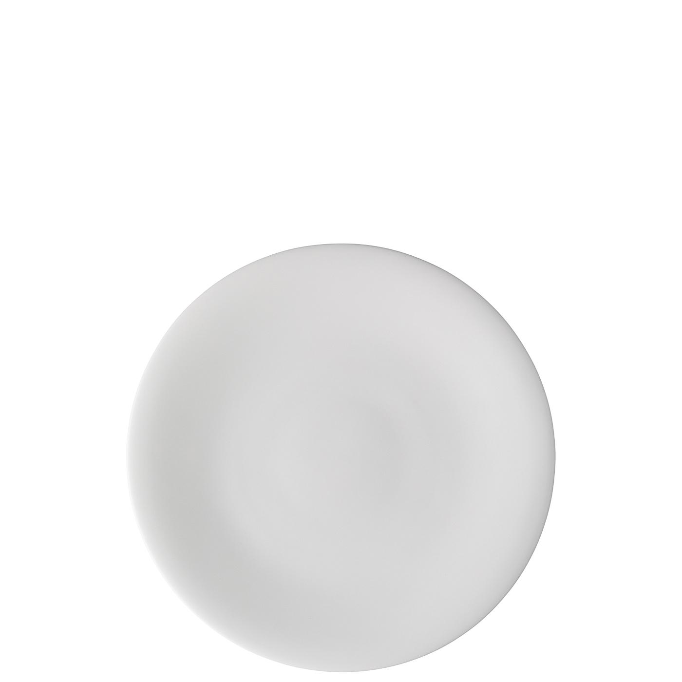 Teller flach 22 cm Nora Weiß Hutschenreuther