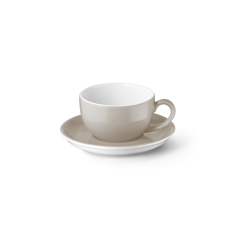 Espresso-Obertasse 0,10 l Solid Color Kiesel Dibbern