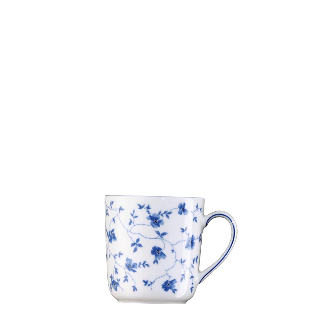 Becher mit Henkel Form 1382 Blaublüten Arzberg