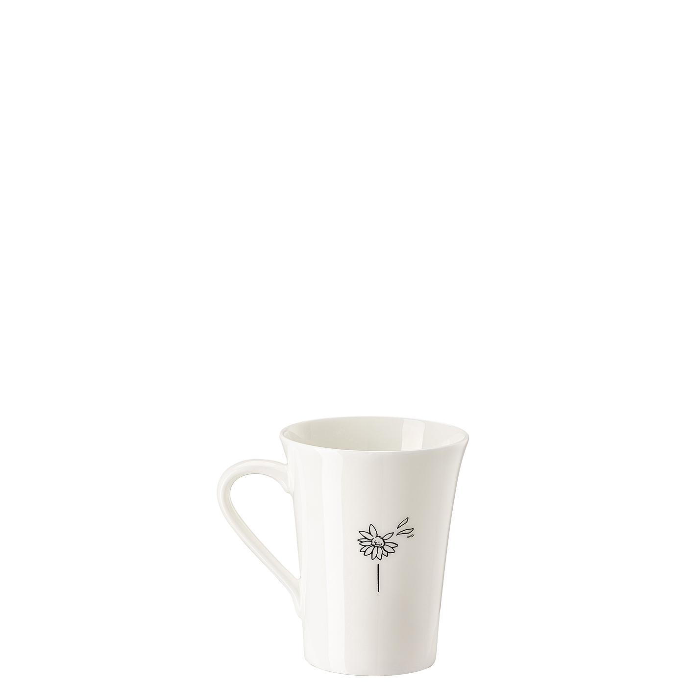 Becher mit Henkel My Mug Collection Worte - Glücklich Hutschenreuther