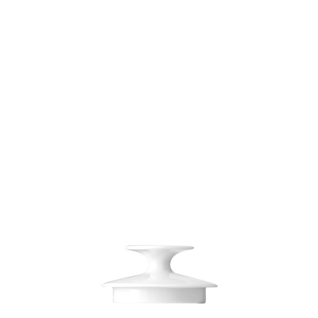 Zuckerdose 6 P. Deckel Medaillon Weiss Thomas Porzellan