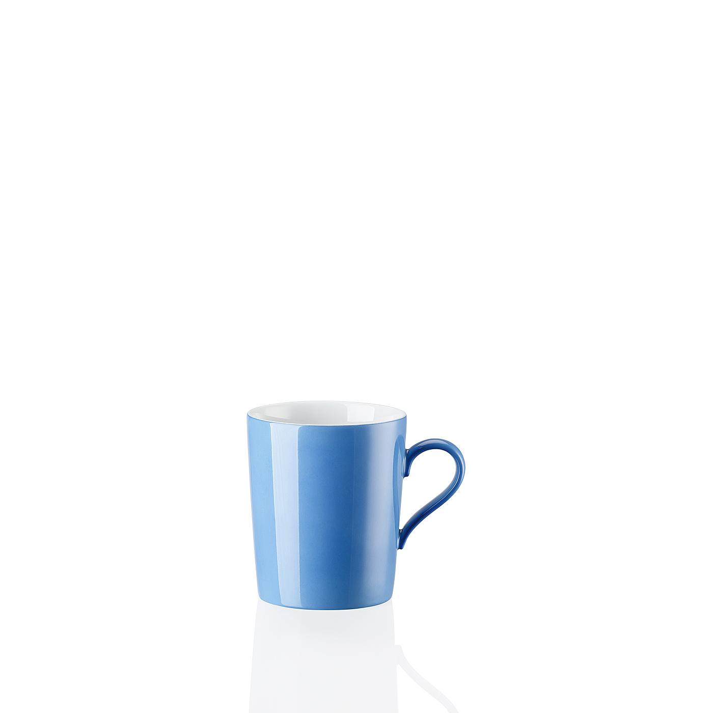 Becher mit Henkel Tric Blau Arzberg