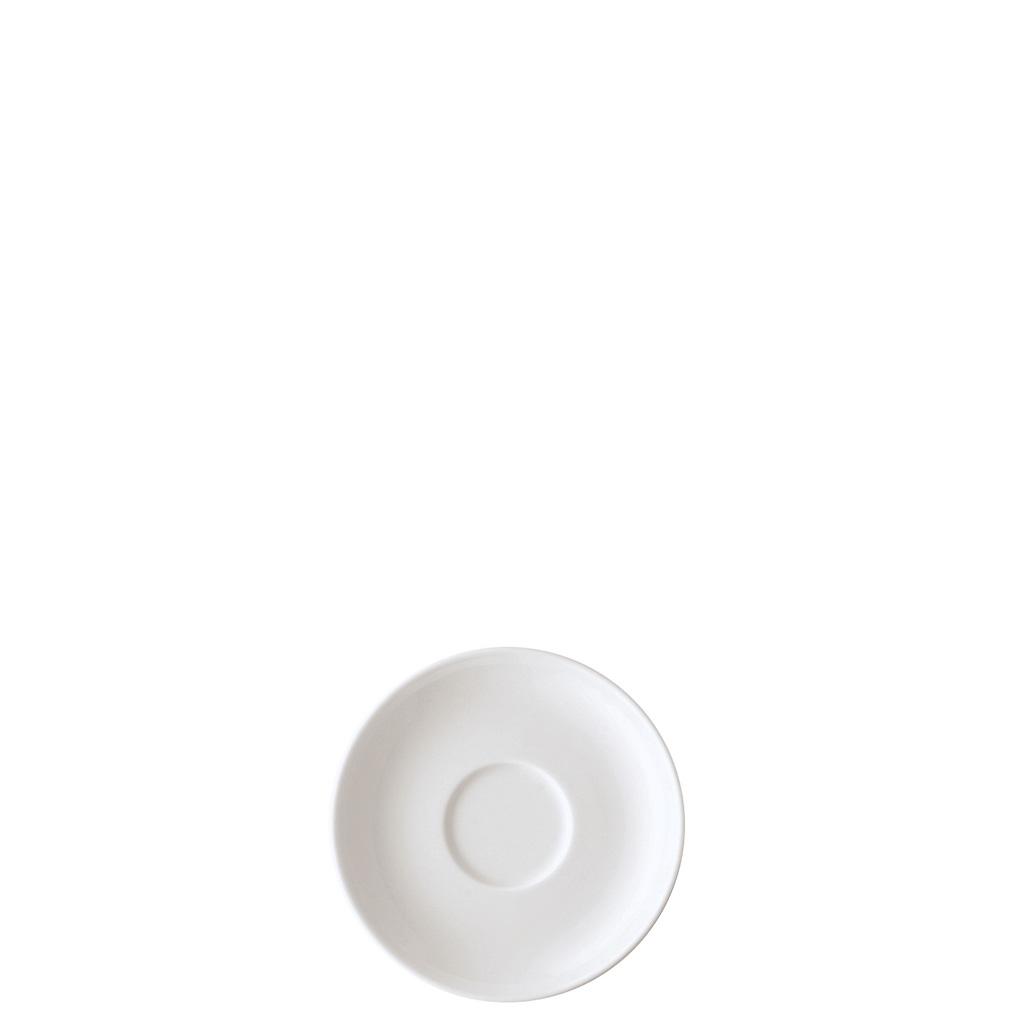 Espresso-/Mokka-Untertasse Form 1382 Weiss Arzberg