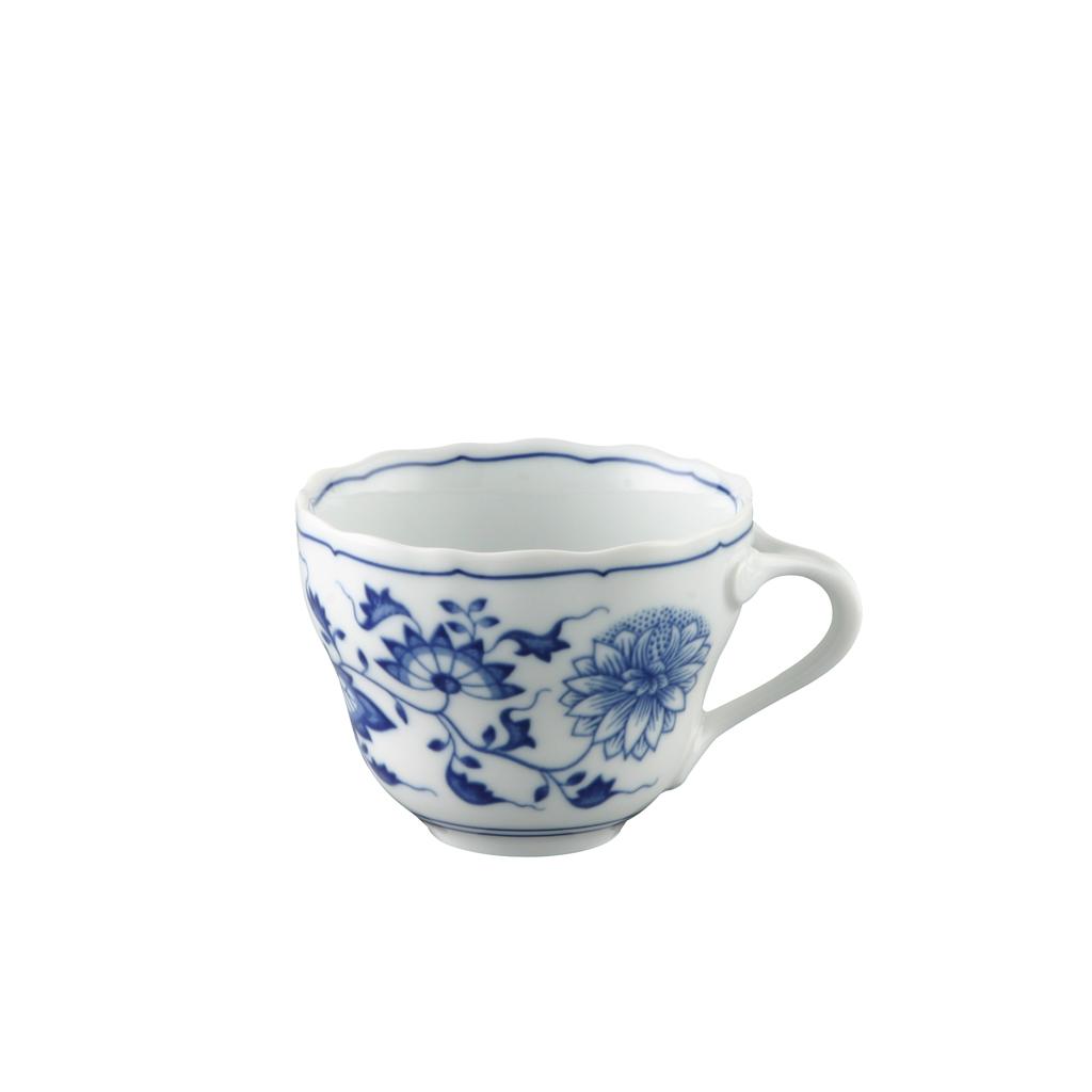 Kaffee-Obertasse Blau Zwiebelmuster Hutschenreuther