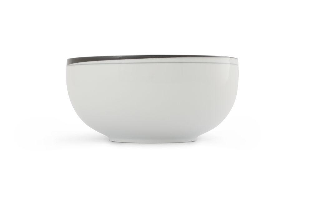 Schüssel 19 cm La Belle Black & White Friesland Porzellan