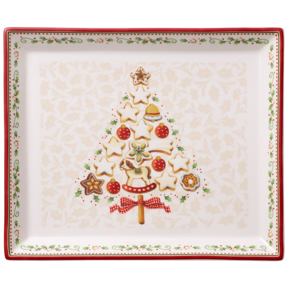 Gebäckplatte rechteckig, klein 27x22,5cm Winter Bakery Delight Villeroy und Boch