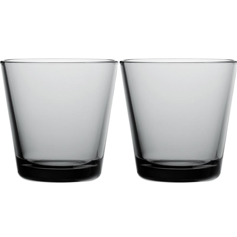 Glass - 210 ml - Grau - 2 Stück Kartio Iittala