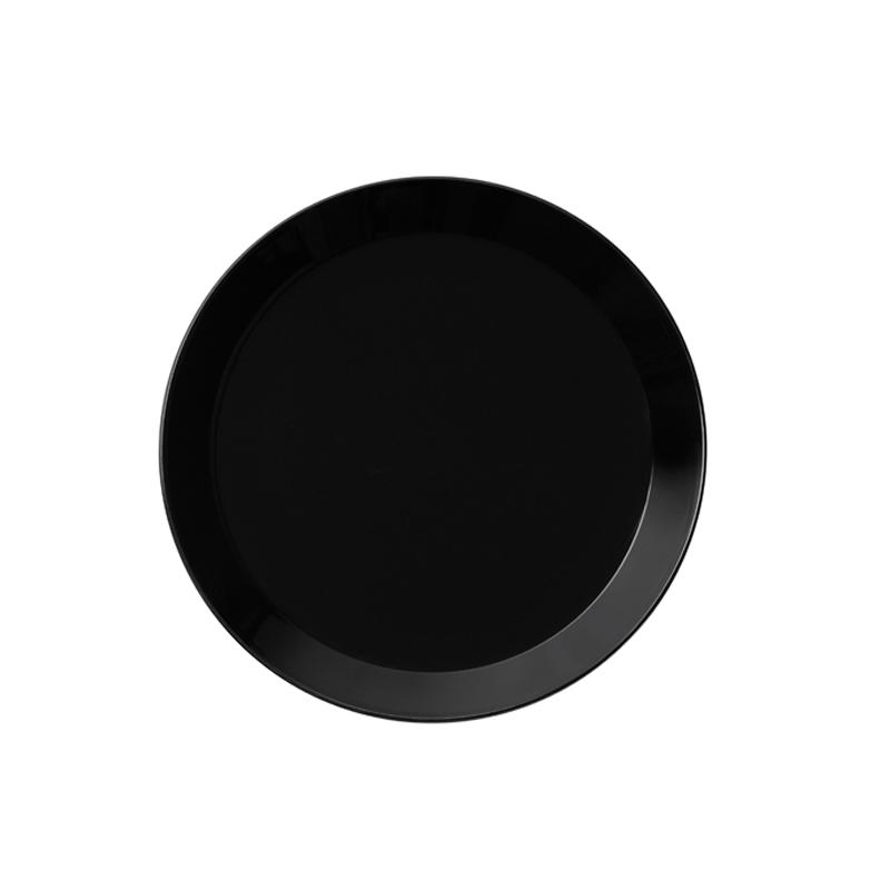 Teller - 17 cm - Schwarz Teema black Iittala