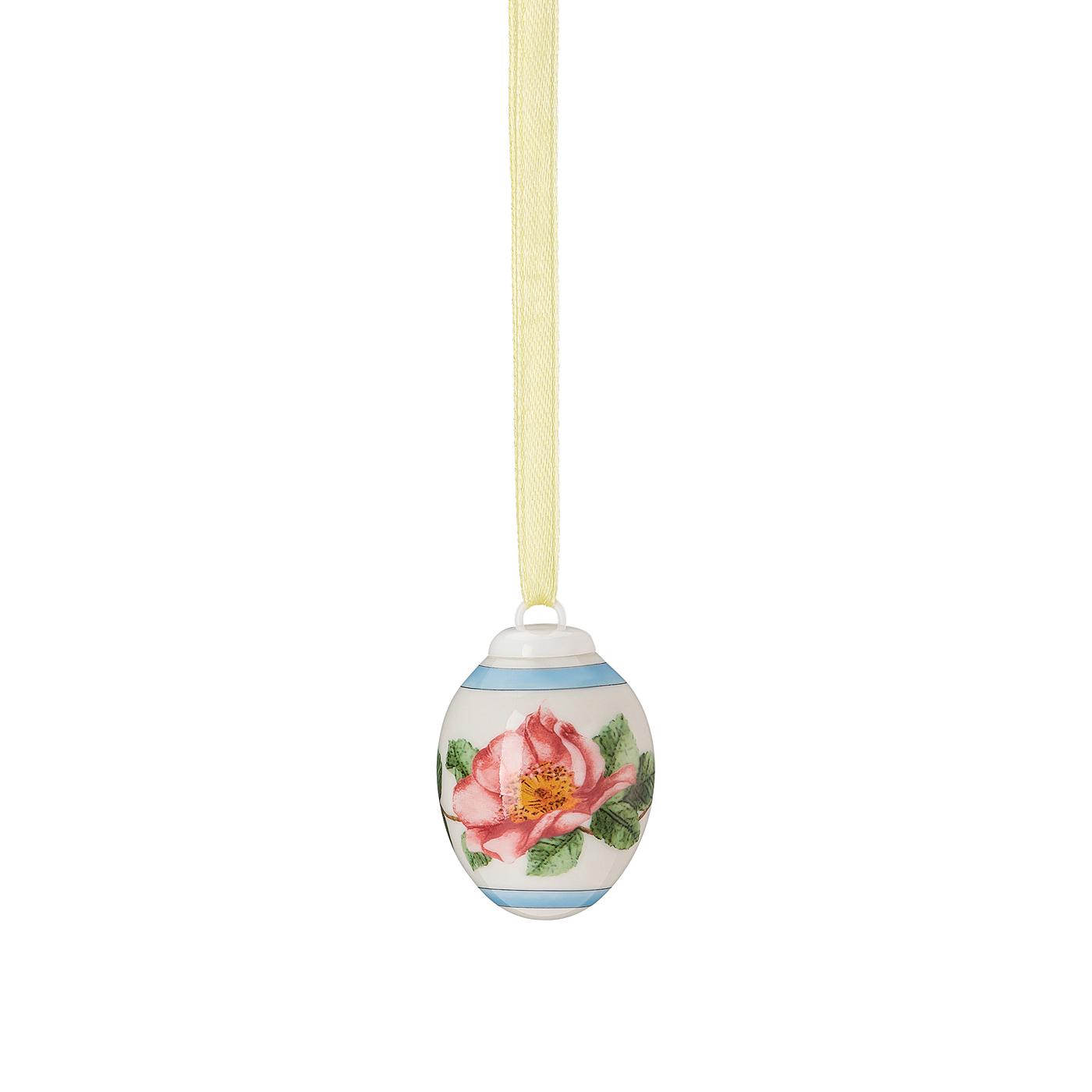 Porzellan-Mini-Ei Frühlingswiese Heckenrose - rosé Hutschenreuther