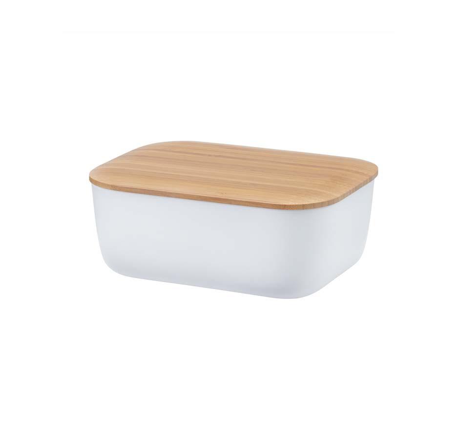 BOX-IT Butterdose Rig-Tig White Stelton