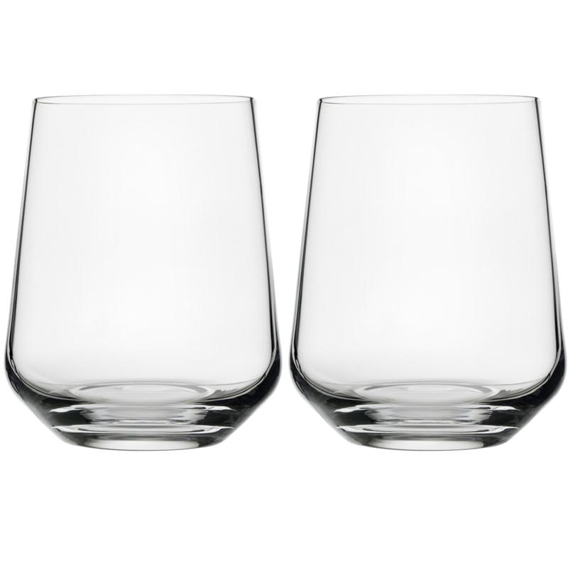 Wasserglas - 350 ml - Klar - 2 Stück Essence Iittala