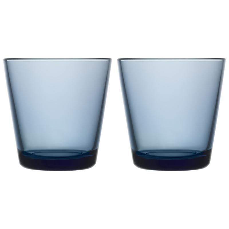 Glass - 210 ml - Regenblau - 2 Stück Kartio Iittala