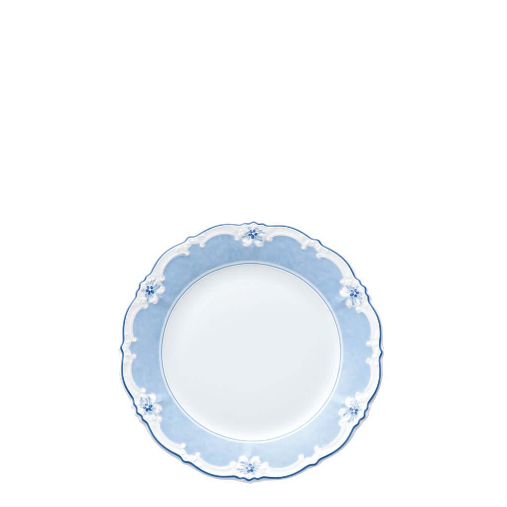 Frühstücksteller 20/Fa Baronesse Estelle Blue Hutschenreuther