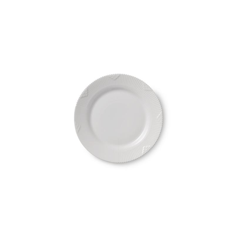 Frühstücksteller - 19 cm White Elements Royal Copenhagen