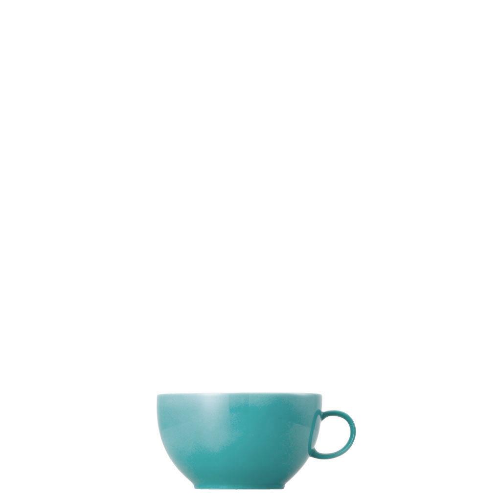 Cappuccino-Obertasse Sunny Day Turquoise Thomas Porzellan
