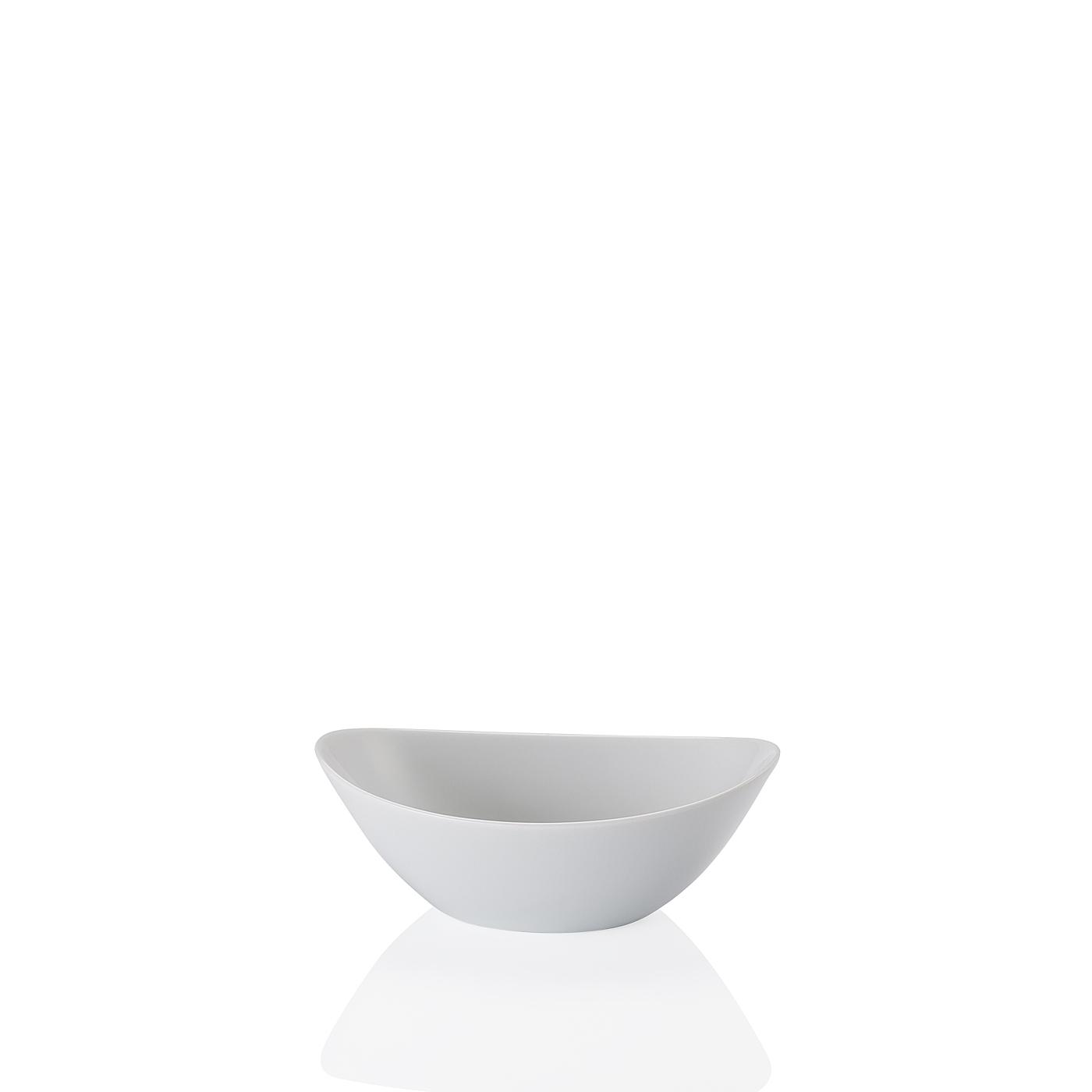 Schale oval 16 cm Form 2000 Weiss Arzberg
