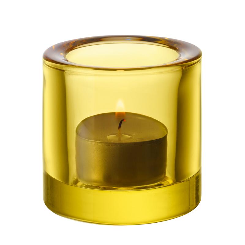 Windlicht – 6 cm - Lime Kivi votives Iittala