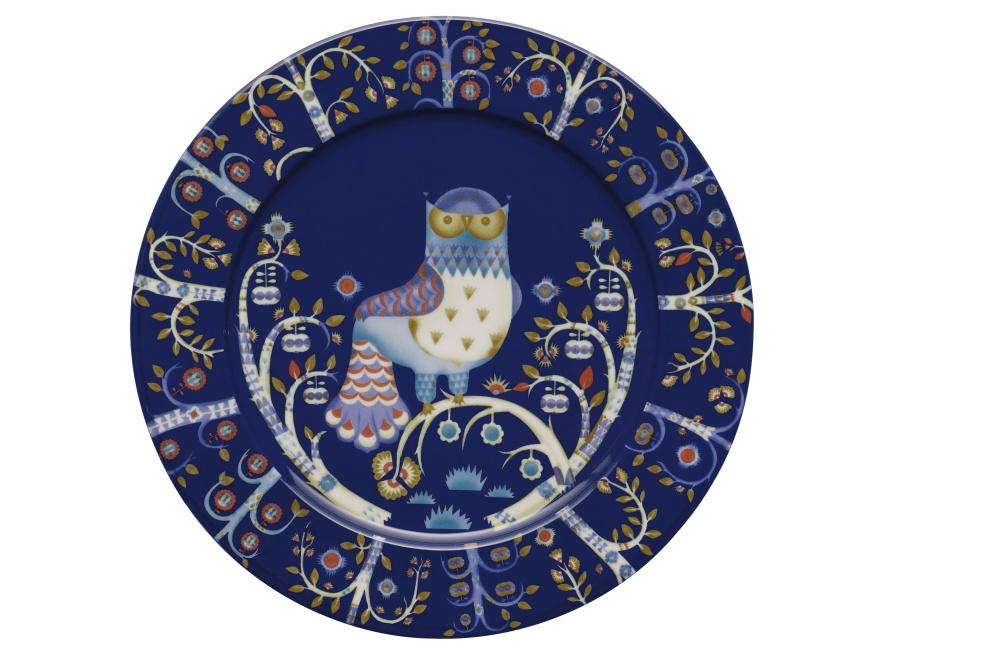 Teller - 30 cm - Blau Taika blue Iittala