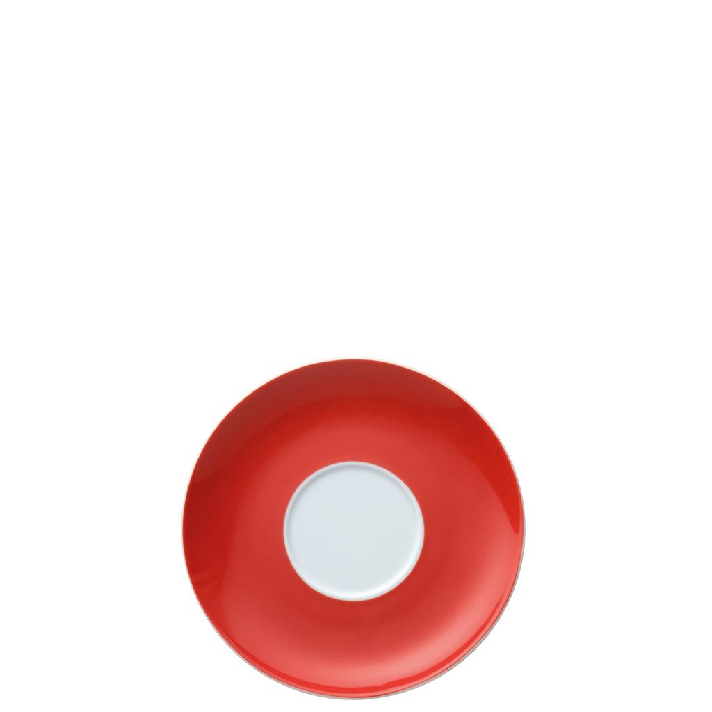 Cappuccino-Untertasse Sunny Day New Red Thomas Porzellan