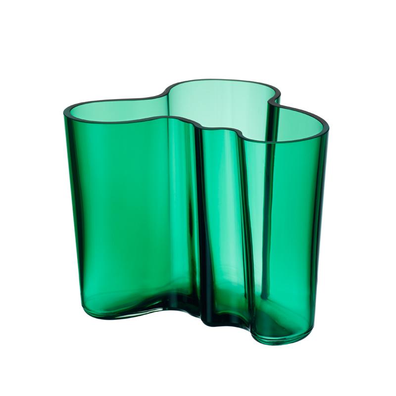 Vase – 12 cm - Emerald Aalto Iittala
