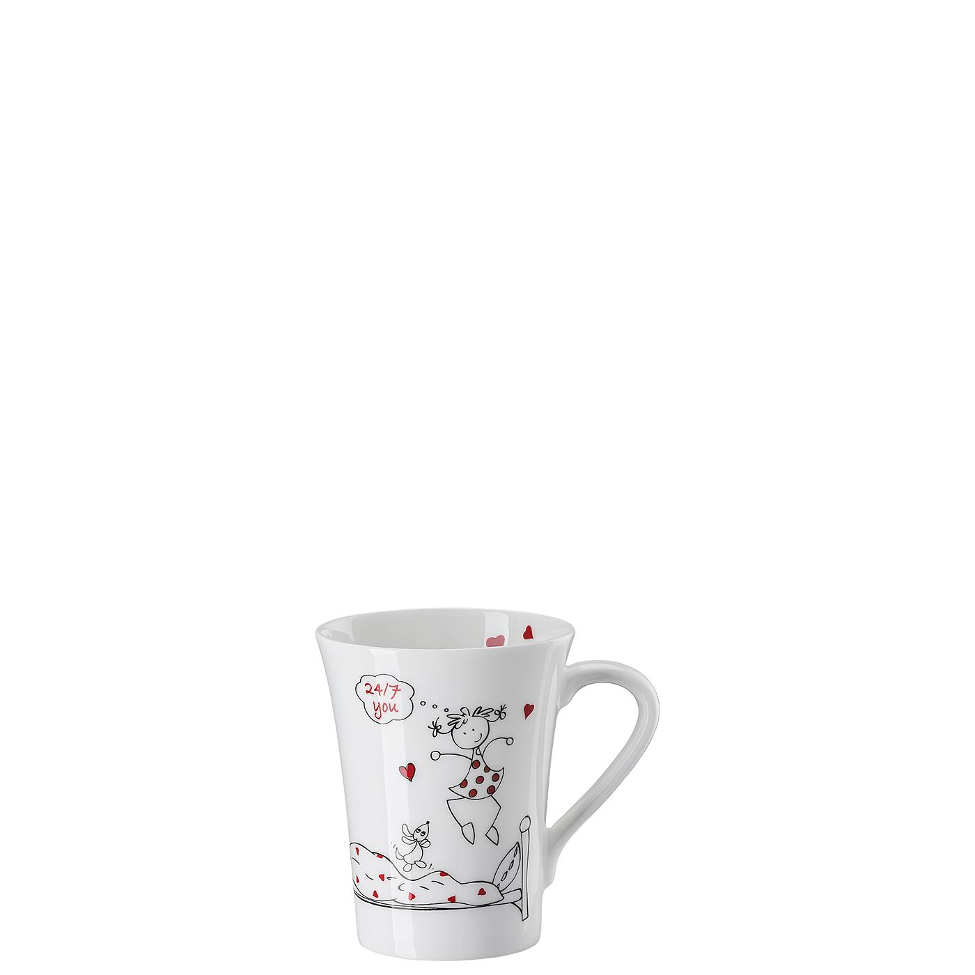 Becher mit Henkel My Mug Collection Friends - 24/7 you Hutschenreuther