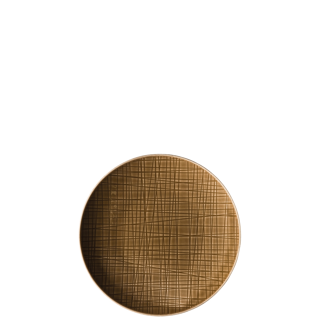 Teller flach 17 cm Mesh Colours Walnut Rosenthal