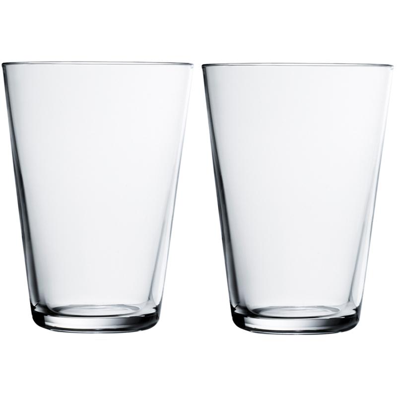 Glas - 400 ml - Klar - 2 Stück Kartio Iittala