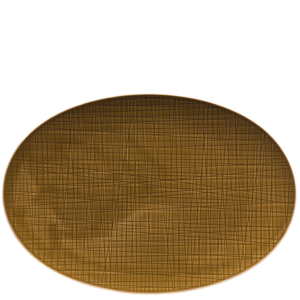 Platte 34 cm Mesh Colours Walnut Rosenthal