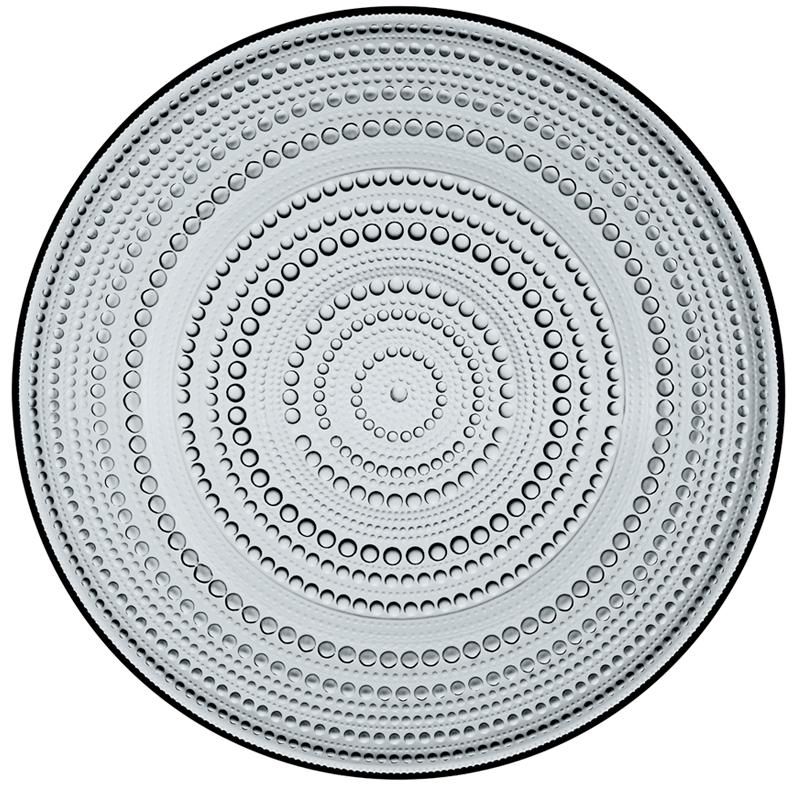 Teller – 31,5 cm - Grau Kastehelmi Iittala