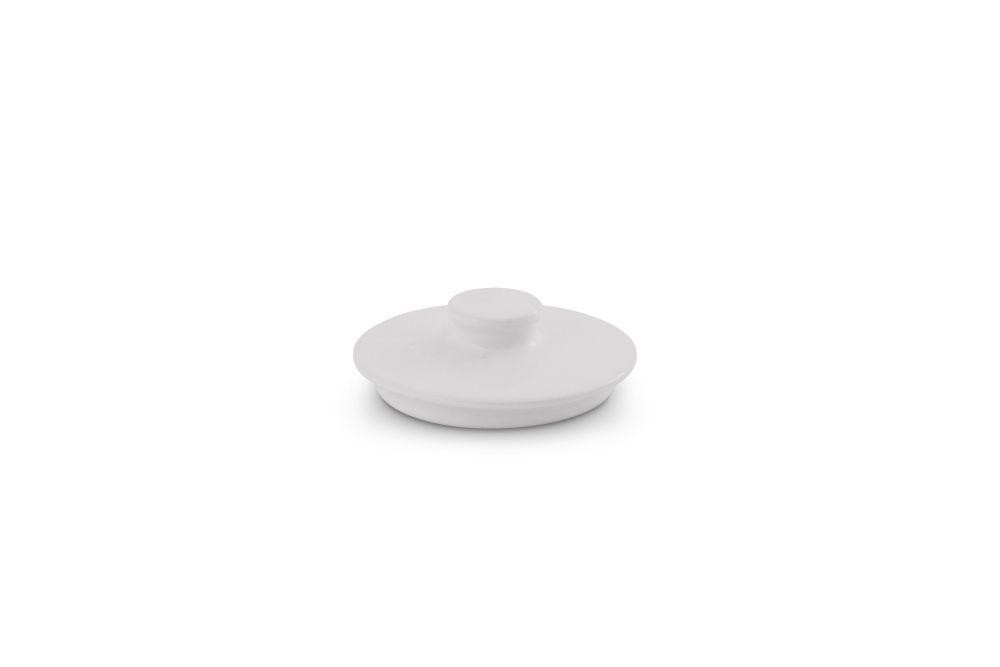 Deckel Zuckerdose 0,25 l Happymix Weiß Friesland Porzellan