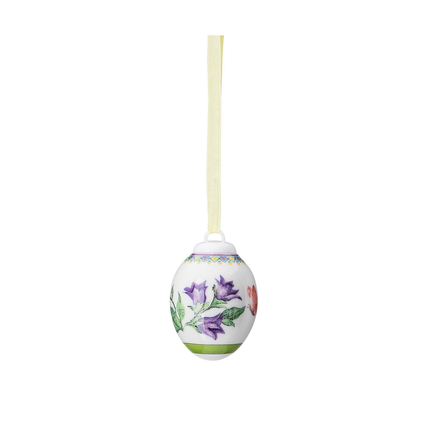 Porzellan-Mini-Ei Frühlingswiese Glockenblume Hutschenreuther