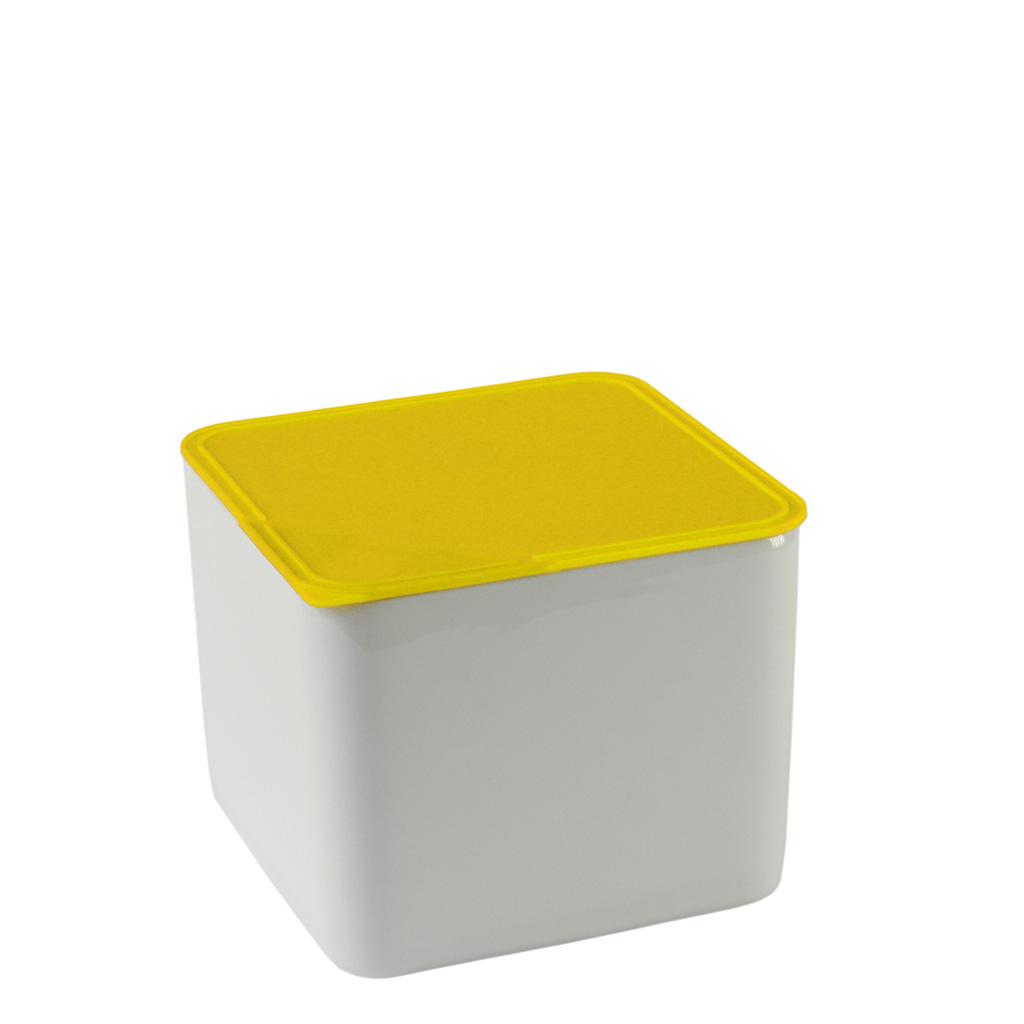 Frischebox 15x15 hoch Küchenfreunde Kunststoff gelb Arzberg