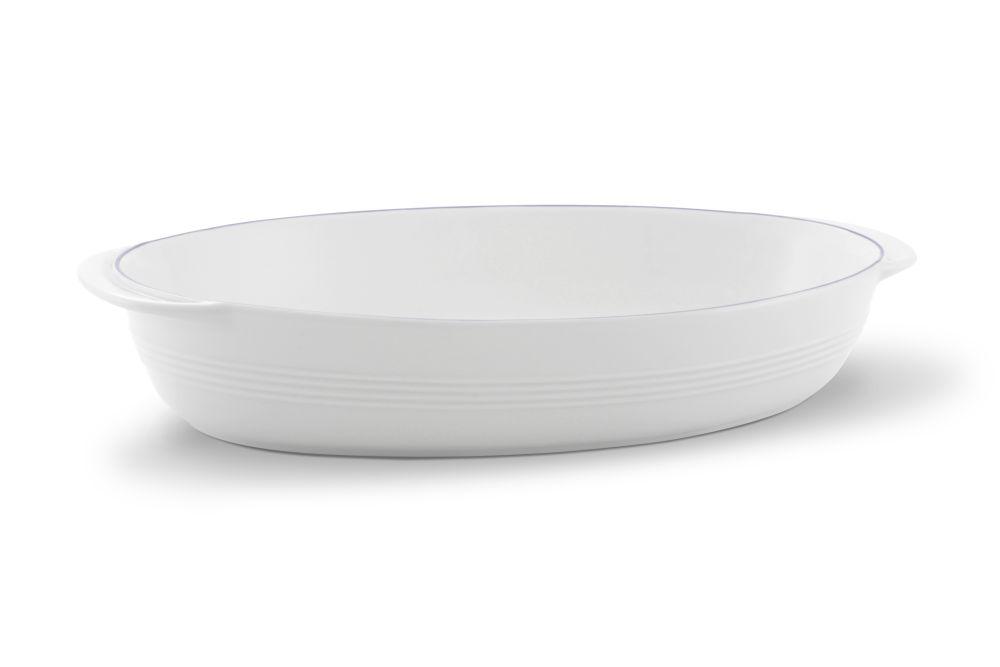 Auflaufschale oval 33,5x20,5 cm Jeverland  Kleine Brise Friesland Porzellan