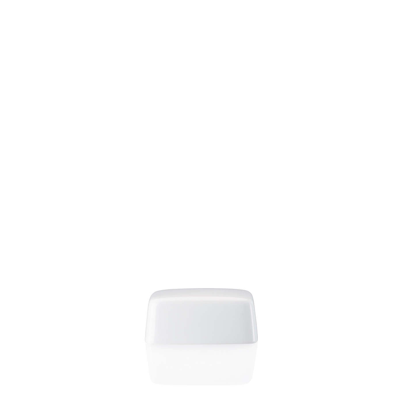 Butterdose klein Deckel Form 1382 Weiss Arzberg