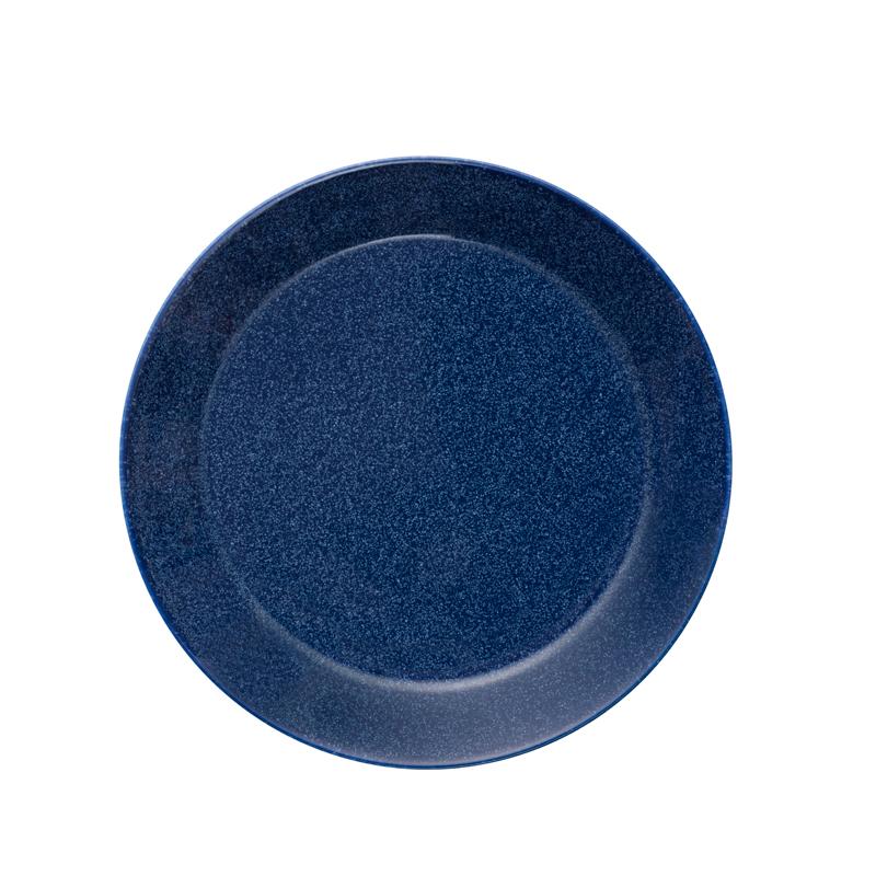 Teller - 17 cm - Duo blau Teema dotted blue Iittala