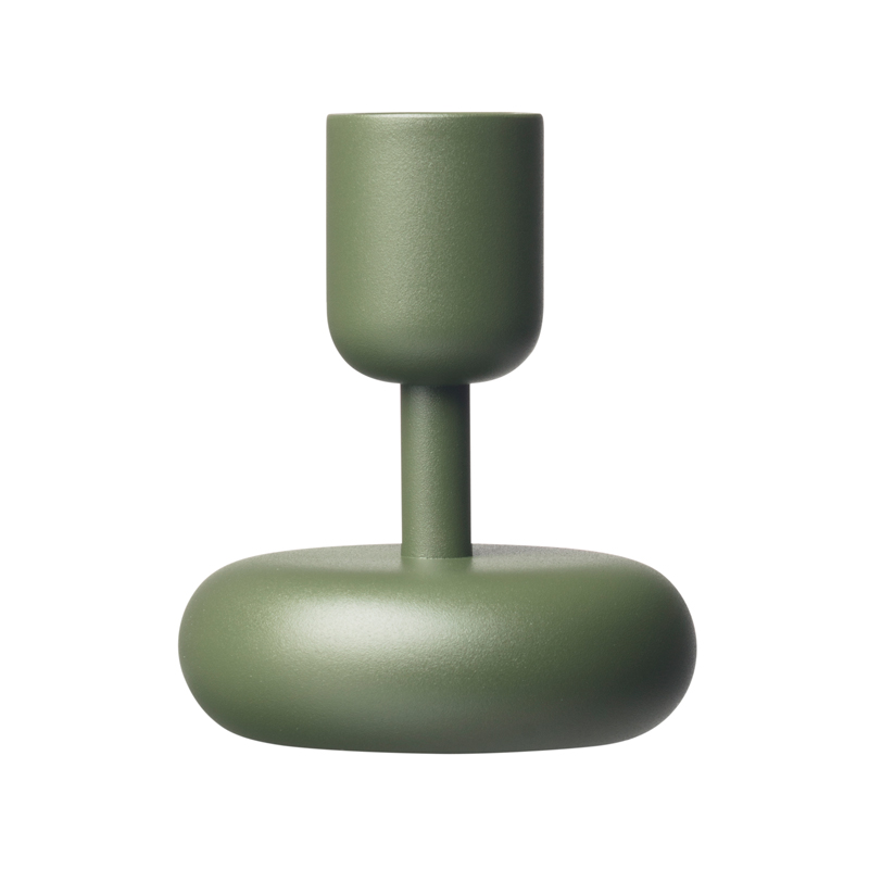 Kerzenleuchter – 10,7 cm – moosgrün Nappula Iittala