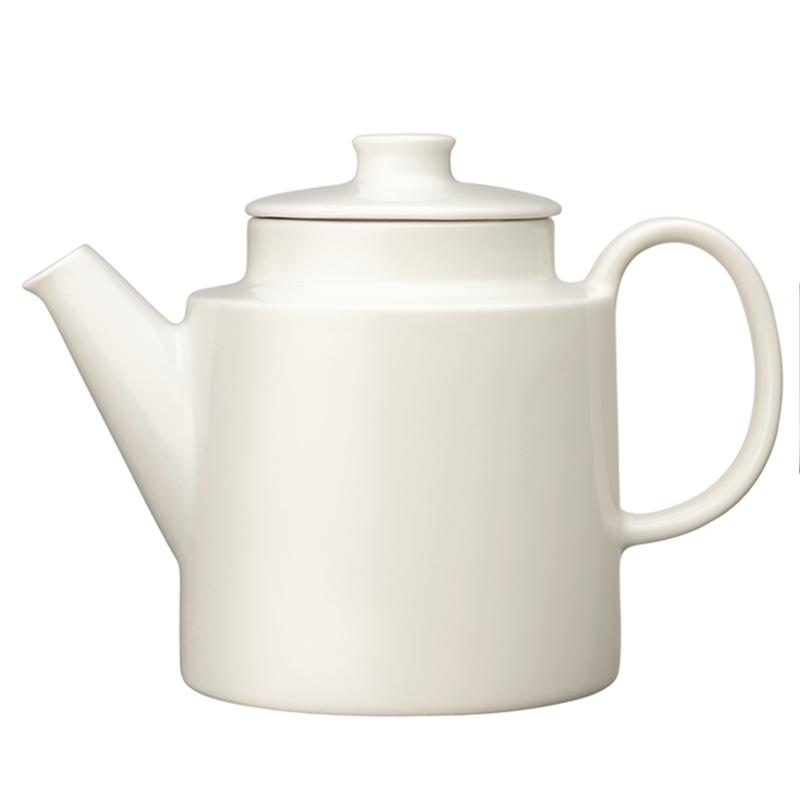 Teekanne mit Deckel – 1000 ml - Weiss Teema white Iittala