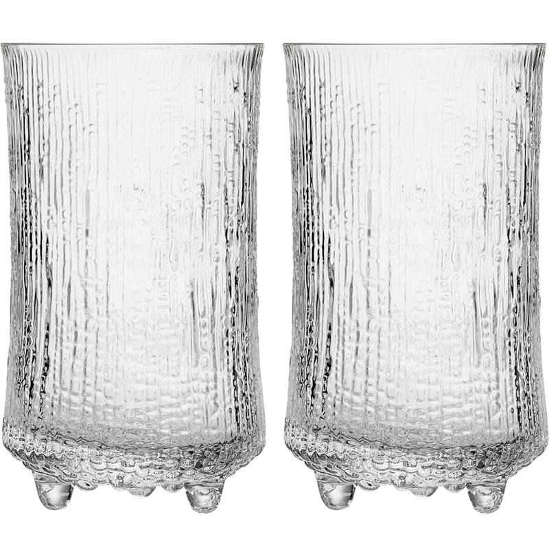 Bierglass – 600 ml - Klar - 2 Stück Ultima Thule Iittala