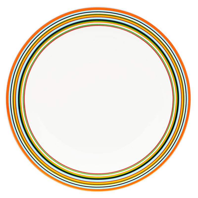 Teller - 26 cm - Orange Origo Iittala