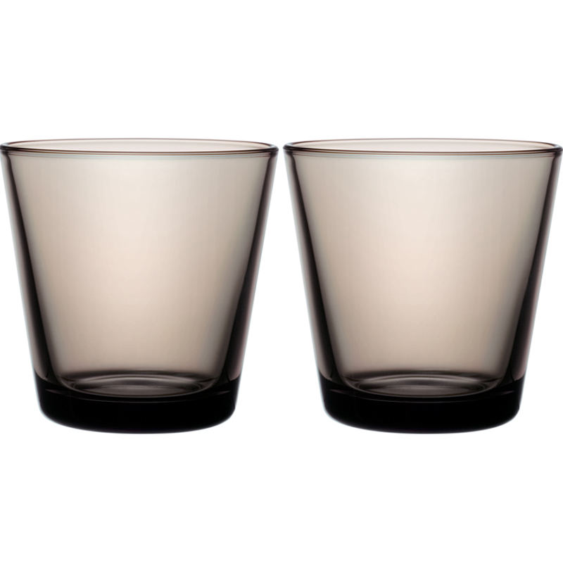 Glass – 210 ml - Sand - 2 Stück Kartio Iittala