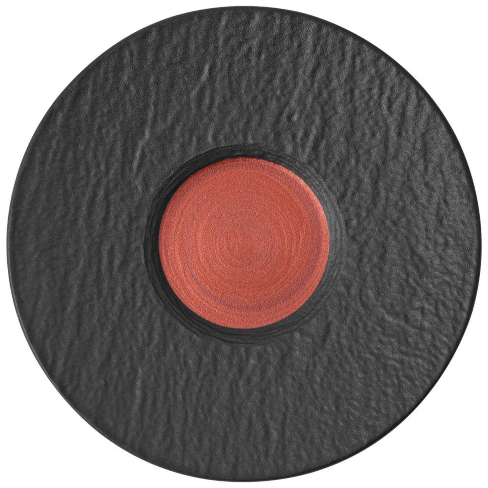 Kaffeeuntertasse 15,5x15,5x2cm Manufacture Rock Glow Villeroy und Boch