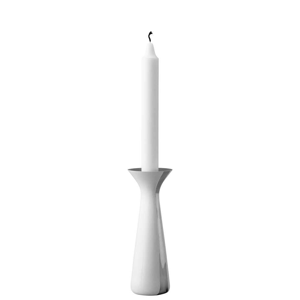 Kerzenständer, 17 cm - klein Unified White Stelton
