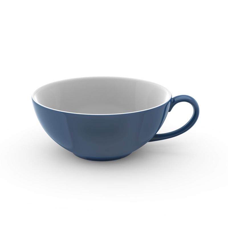 Tee-Obertasse 0,22 l Solid Color Indigo Dibbern