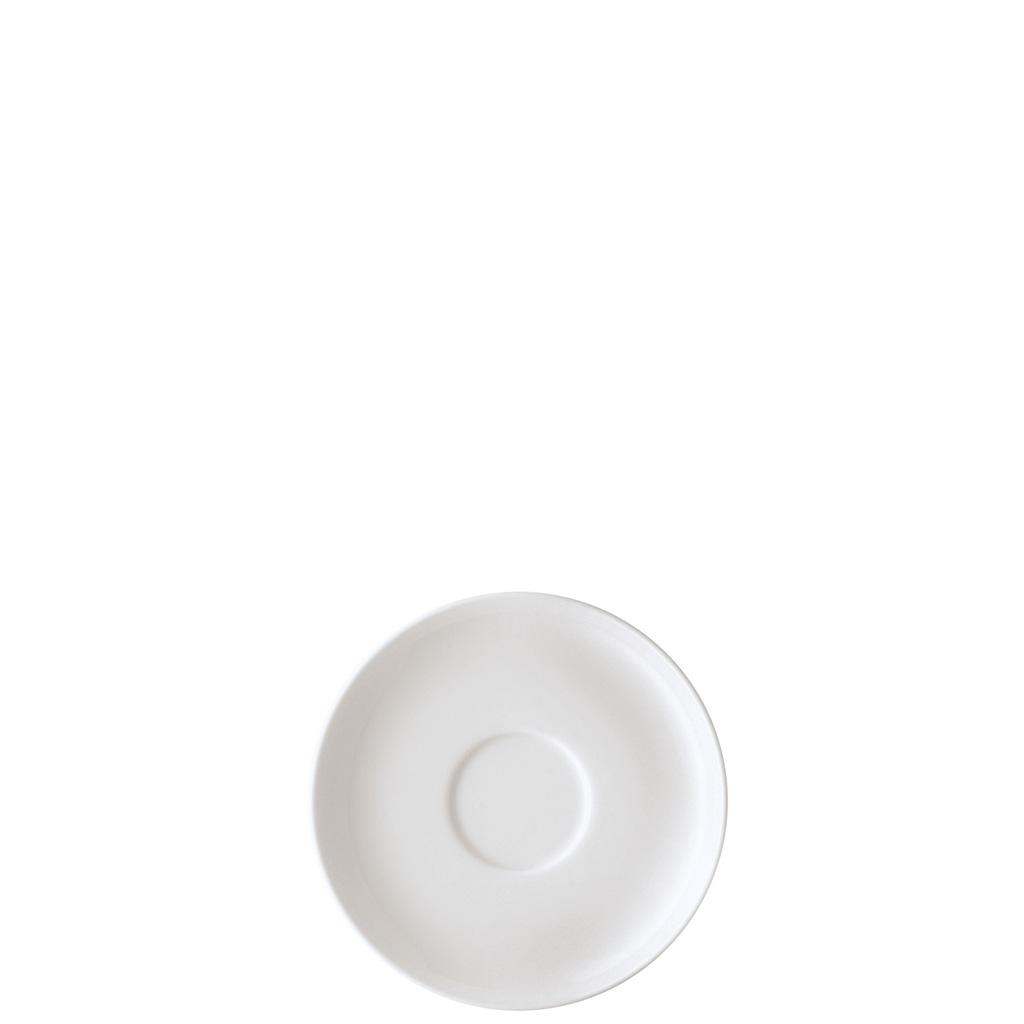 Kaffee-Untertasse Form 1382 Weiss Arzberg