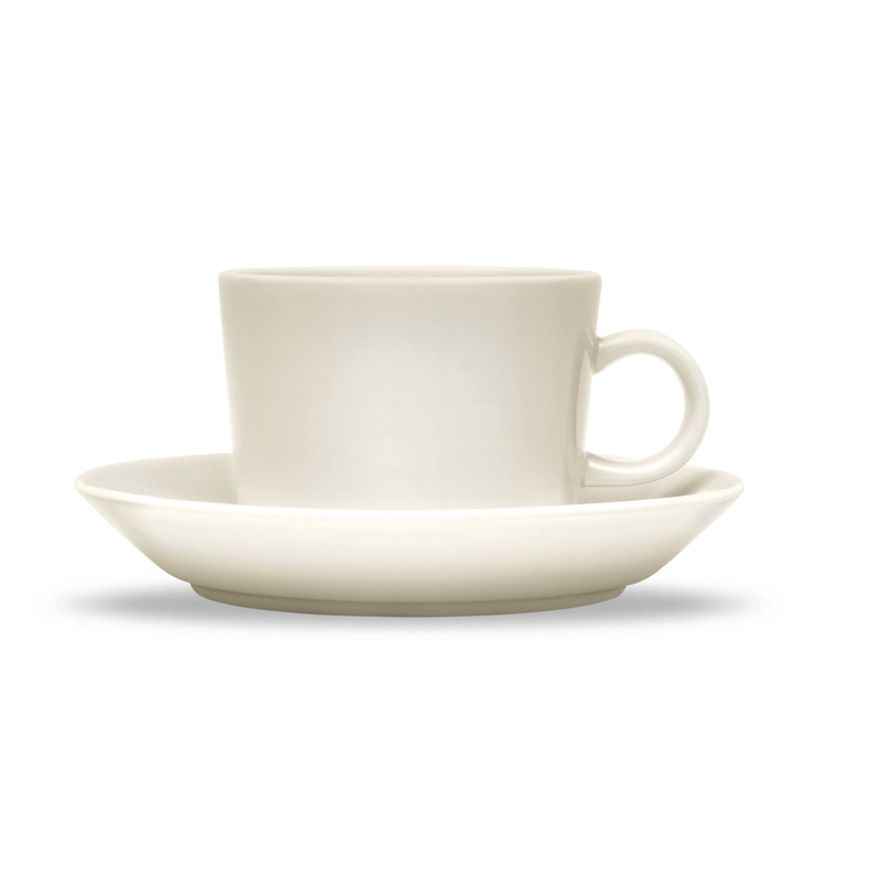 Kaffee-Obertasse – 220 ml - Weiss Teema white Iittala