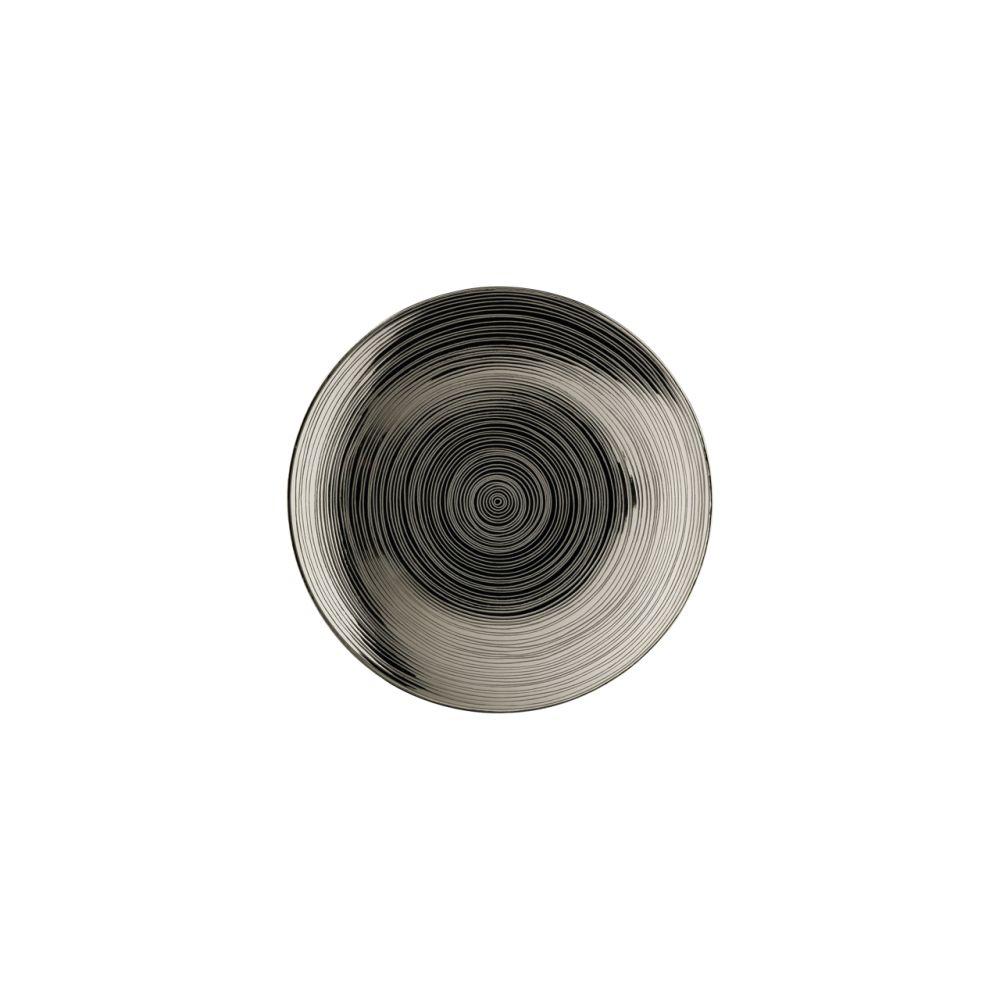 Brotteller 16 cm Platin titanisiert TAC Gropius Stripes 2.0 Rosenthal Studio Line