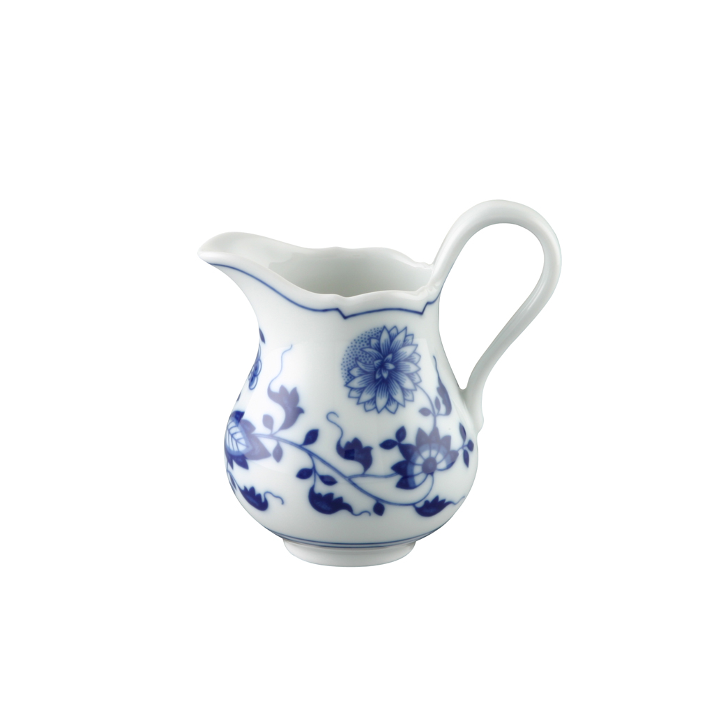 Milchkännchen 6 P. Blau Zwiebelmuster Hutschenreuther